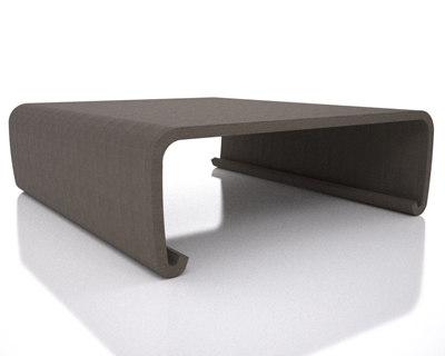 linen coffee table 3d model