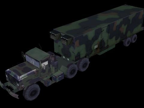 3d openflight big foot trailer model