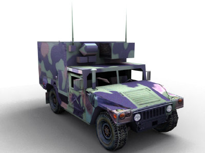 openflight military hummer shelter 3ds