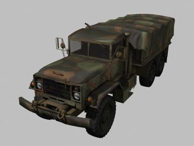 military transport 3d model