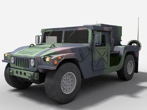 army hummer generator obj