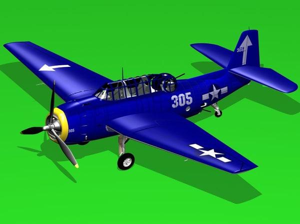 3d avenger tb3 model