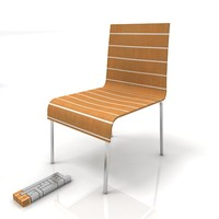 esplanade dining chair 3d model