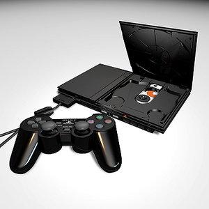 max playstation 2 slimline console