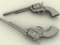 3d 3ds colt peacemaker