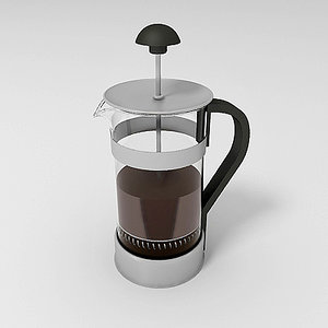 3d model kaffe coffee maker