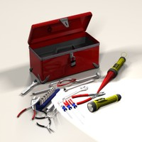 toolbox wrench tool 3d model