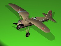 airplane 3d xsi