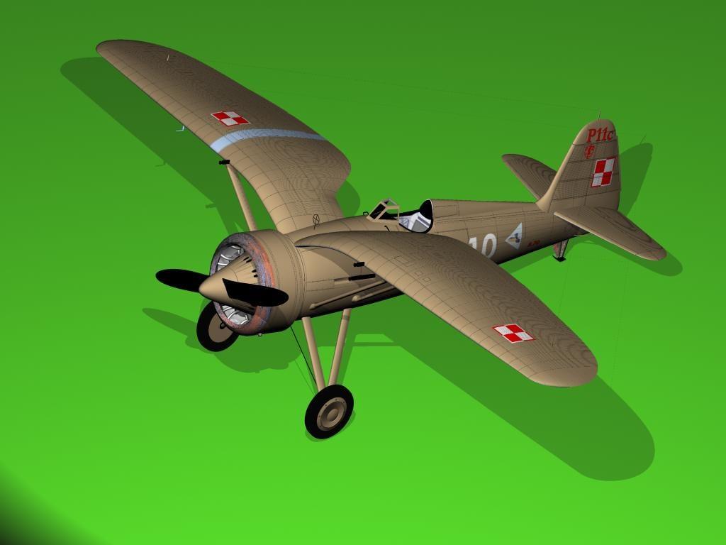 airplane 3d xsi