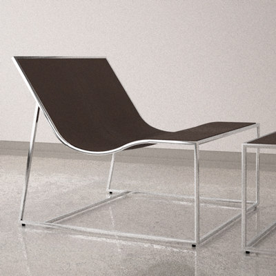 3d holy day lounge chair model