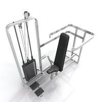 racks training 3d model