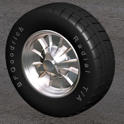 3ds tire halibran