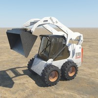 bobcat excavator 3d model