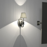 3d model traditional sconce