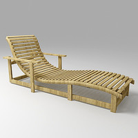 dao chaise lounge 3d model
