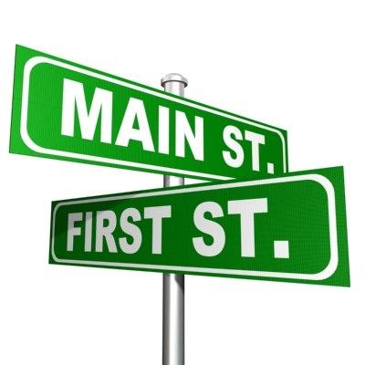3d model of street sign