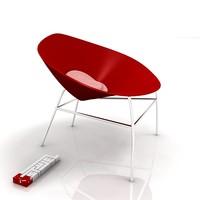 3d bloom chair model