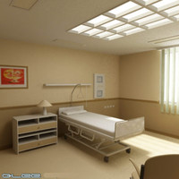 Hospital one bed room