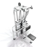 3d benches training model