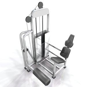 3ds max weight racks training