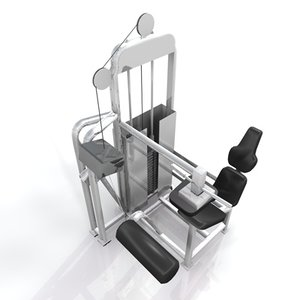 3d weight benches training