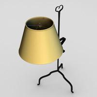 lamp light 3d c4d