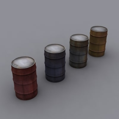 max 55 gallon barrels