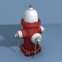 3d hydrant street model