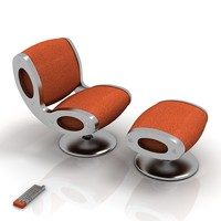 3ds max moroso gluon chair