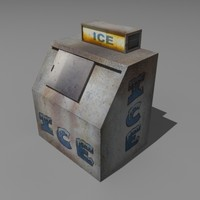 ice machine 3d model