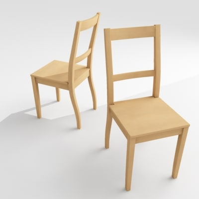 nice chair ikea 3d model