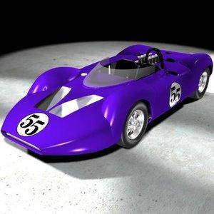 canam car king cobra 3d model
