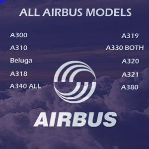 aircraft airbus 3d model