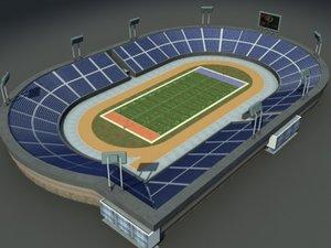 max us-football field