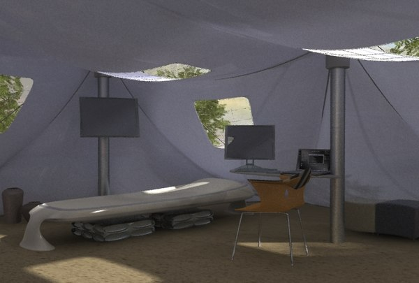 army medical tent max