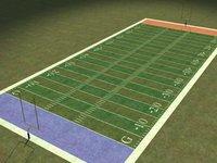 grass field 3d model