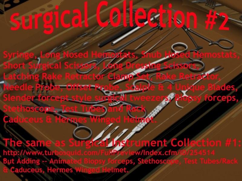 syringe surgical 3d model