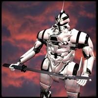 3dsmax mecha robot