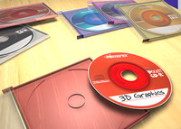 3d memorex mini cds