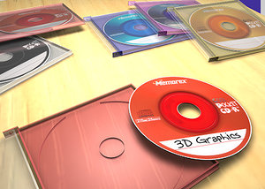 3d memorex mini cds