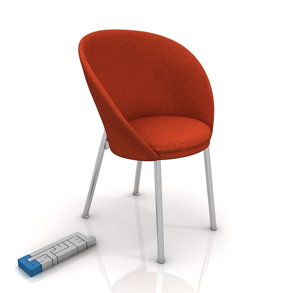 ryan lulu chair 3d max
