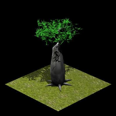 3d model of swift nature
