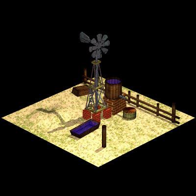 farm windmill 3ds free