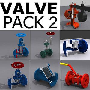valve pack 2 3d model