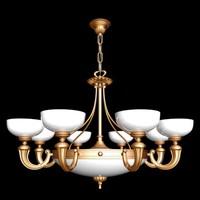 steel gold 3d model