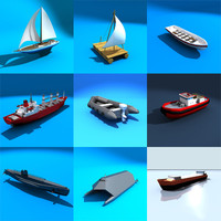 watercraft collections ship tanker 3d model