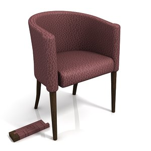 moroso ritz 50 chair 3d max