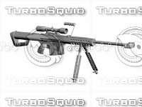 3ds barrett m82a1 rifle