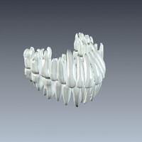 3d model universal teeth tooth