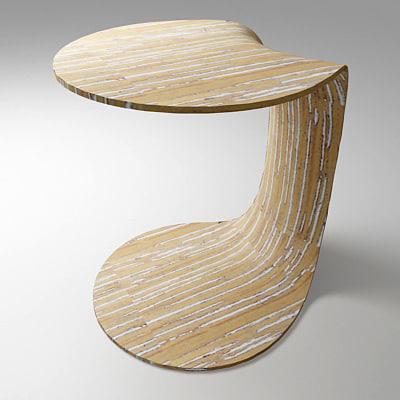 moroso yoyo table 3d model